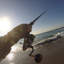 5月の遠州灘サーフはハウルで粘ってナンボ