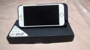 ハヤブサモバイルのiPhone6/6S用のバッテリー内蔵ケース買ってみた。